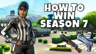How To WIN MORE Solos In Season 7 *Fortnite Tips*