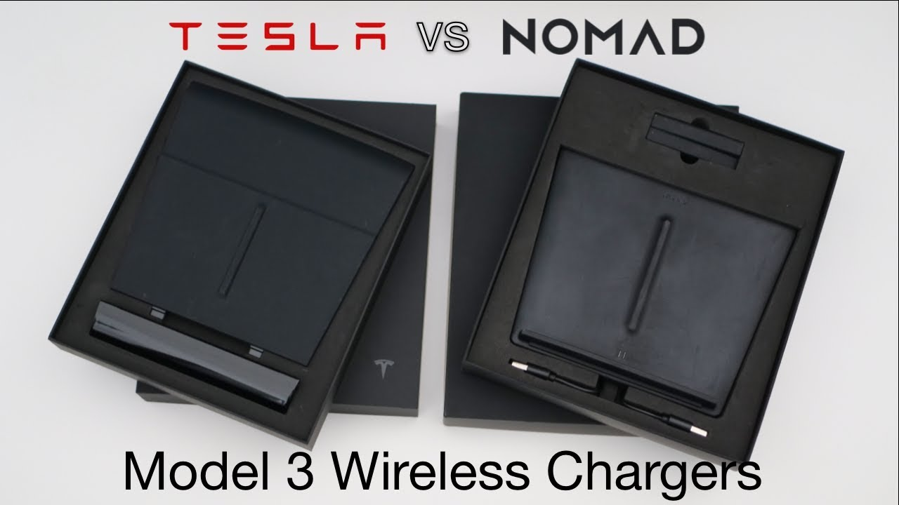 Model 3 Wireless Chargers Nomad Vs Tesla Youtube