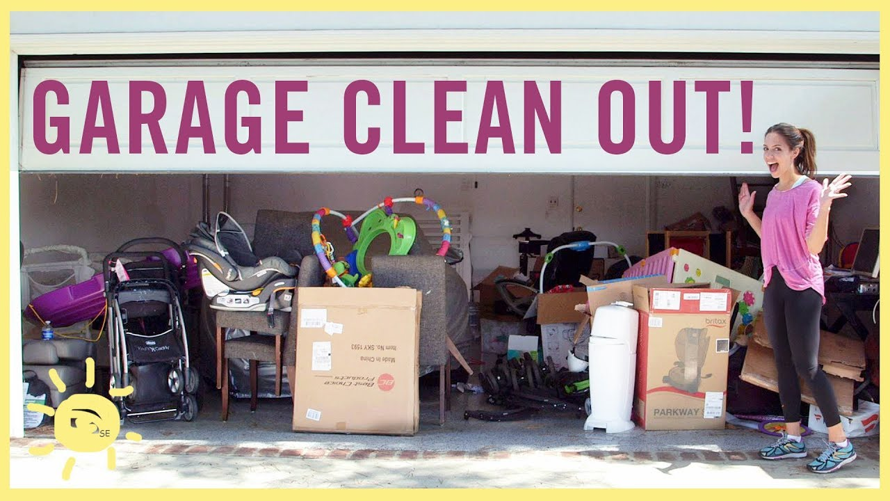 Organize Garage Clean Out And Where To Take Stuff Youtube