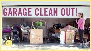 ORGANIZE | Garage Clean Out! (and where to take stuff)