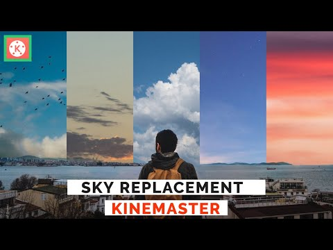 How To Make Sky Look AWESOME | Cinematic Sky Replacement On Kinemaster | Mohammad Arru