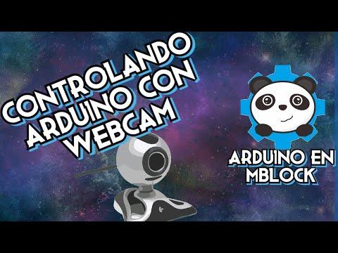 Control de Arduino por WebCam