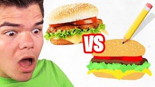 REAL LIFE vs. DRAWING CHALLENGE! (Skribbl.io)