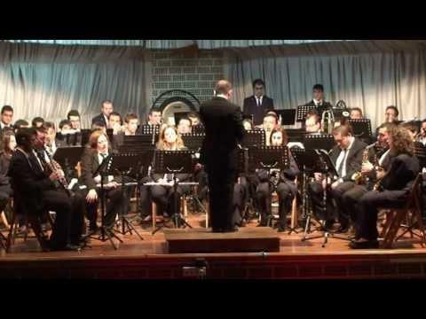 La Union Musical de Agost interpretando La cancion del Olvido de José Serrano