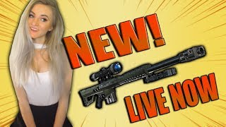 Fortnite - NEW UPDATE SOON! HEAVY SNIPER GAMEPLAY. ROAD TO 1000 WINS! (986 SOLO WINS)