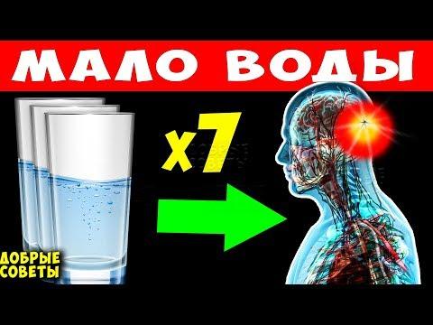 Нехватка Воды вызывает Необратимые процессы в Организме! Сколько нужно Пить воды в День?