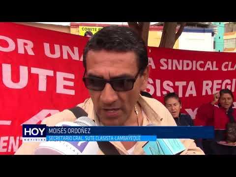 Chiclayo: Profesores no temen descuentos ni destitución