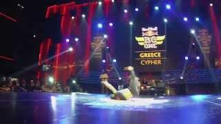 Red Bull BC One GREECE Cypher 2015 |Judges Showcase|Niek , Bootuz , Cico