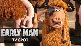 "Early Man (2018 Movie) Official TV Spot – ""Critics Rave"" - Eddie Redmayne, Tom Hiddleston"