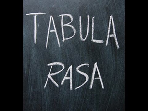 an analysis of the topic of the child and the tabula rasa Tabula rasa  what it will do  how play and child development - watch television read tabula rasa: teaching and learning as is the property of its.
