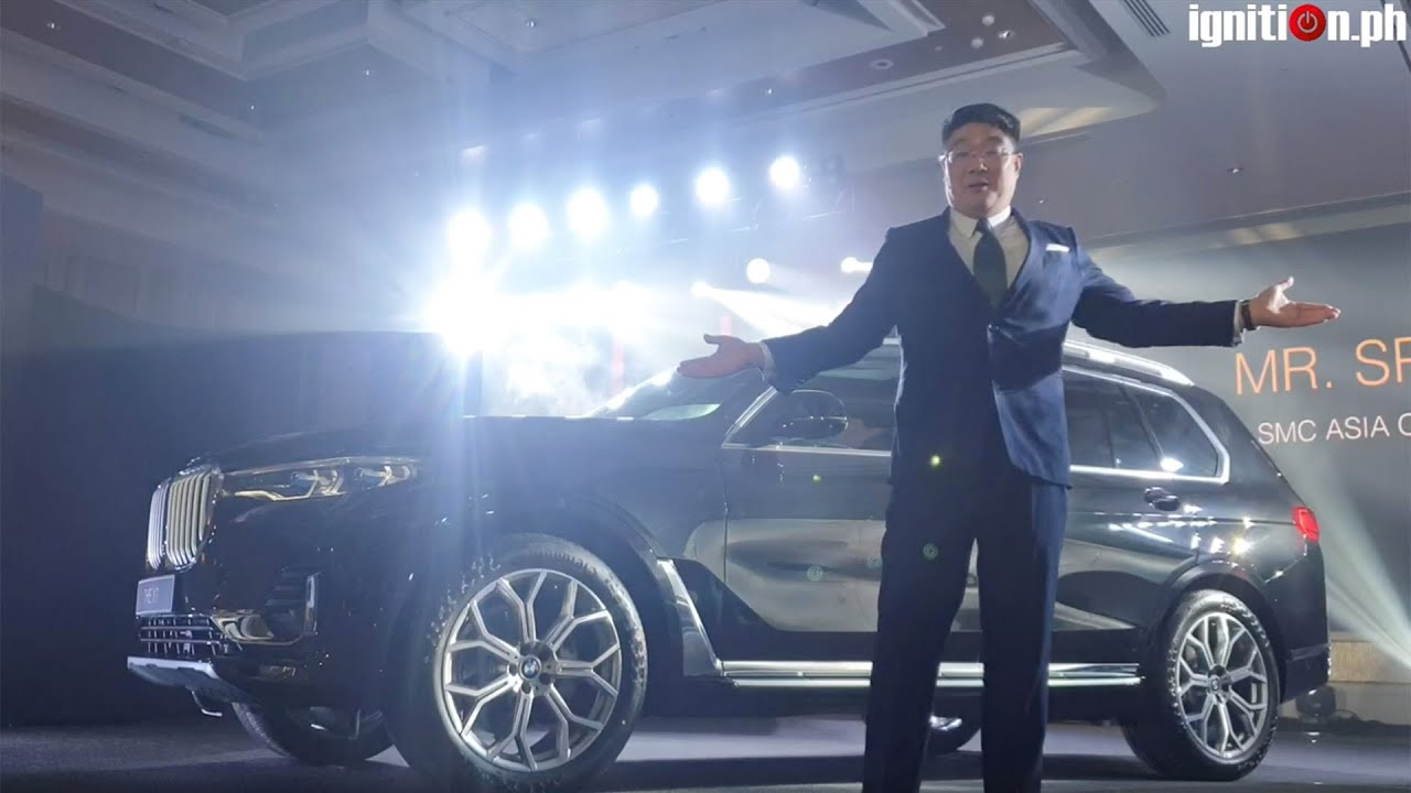 2019 BMW X7 Launch