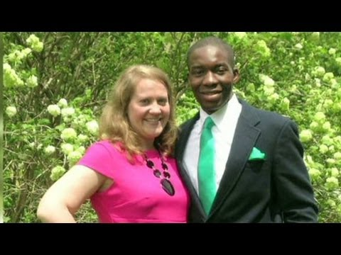 Pale mature gets bbc in interracial