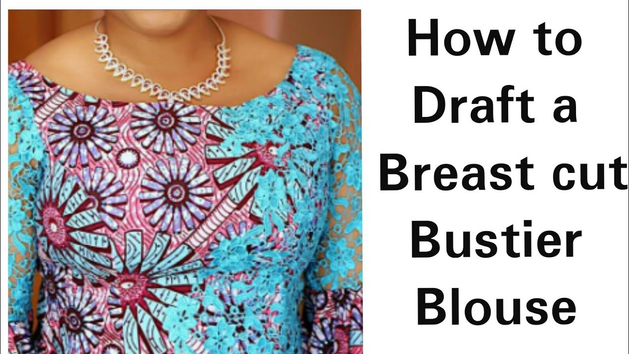Download How to Draft a Breast cut Bustier Blouse
