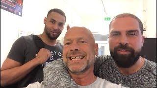 Derek, Jihad Ali-Khan und ich im BoxGym! ♦ Michael Kuhr ♦ Kuhr Security Berlin
