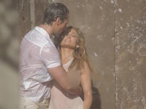 Inside J.Lo's Steamy Music Video with D&G Model David Gandy