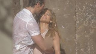 Inside J.Lo's Steamy Music Video with D&G Model David Gandy