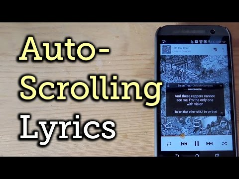Get Karaoke-Style Floating Lyrics for Any Song on Your HTC One [How-To]