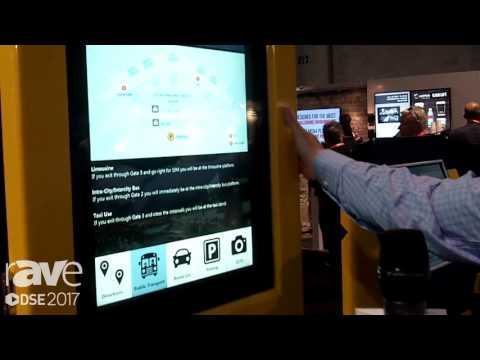 DSE 2017: Makitso Displays Demos Outdoor Kiosk For Wayfinding And Retail