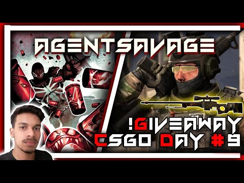!Giveaway CSGO India Live - AgentSavage #9 (Giveaway AWP Mortis) | MM Rank Push #SOLO Queue