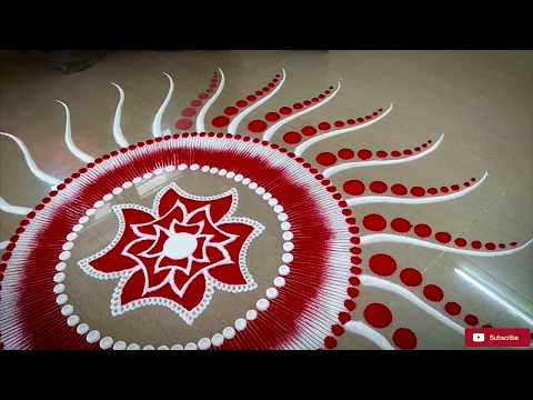 Beautiful Rangoli Design For Diwali