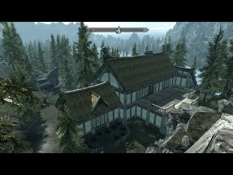 """Как построить дом в Skyrim? (Поместье """"Озёрное"""")"""