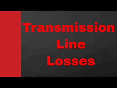 Transmission Line Losses (Attenuation Loss, Reflection Loss, Return Loss & Transmission Loss)