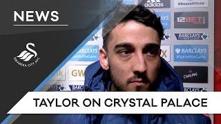 Video Gol Pertandingan Swansea City vs Crystal Palace