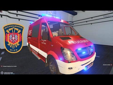Emergency Call 112 – Vienna Command Vehicle Responding! 4K