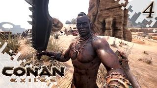 CONAN EXILES - Finding Ironstone! - EP04 (Gameplay)