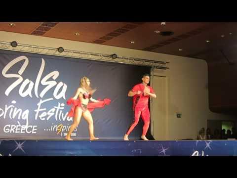 Ricardo Vega & Karen Forcano @8th Salsa Spring Festival