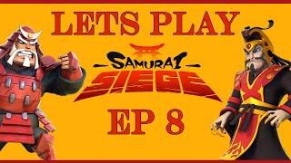 Samurai Siege Lets Play Ep8 - Farming