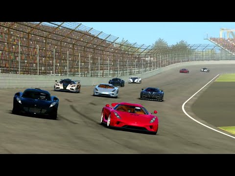 Real Racing 3 - Hypercar in Indianapolis Motor Speedway