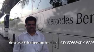 Mercedes benz Bus on hire in india mumbai