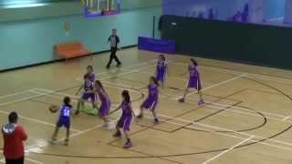 2015 九龍東區小學分會籃球比賽(女子組) 八強戰 藍田循