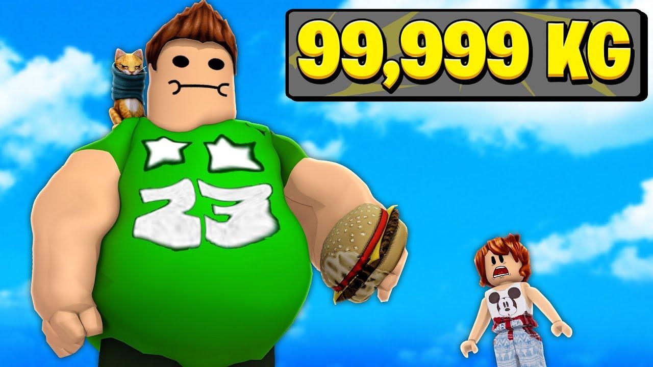 Engordamos 9 999 999 Kilos En Roblox Roblox Snack Simulator