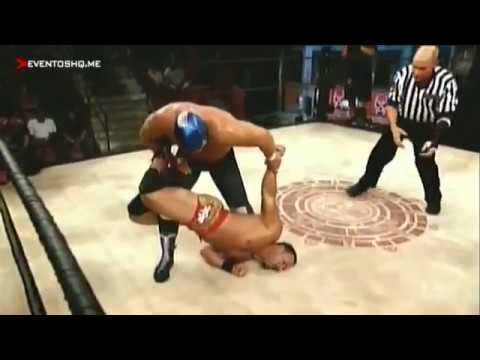 Lucha Underground Blue Demon Jr. VS Chavo Guerrero Jr. Episodio 1 29 Octubre 2014