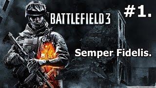 1. Battlefield 3: Walkthrough (PC) - Semper Fidelis [HD 1080p]