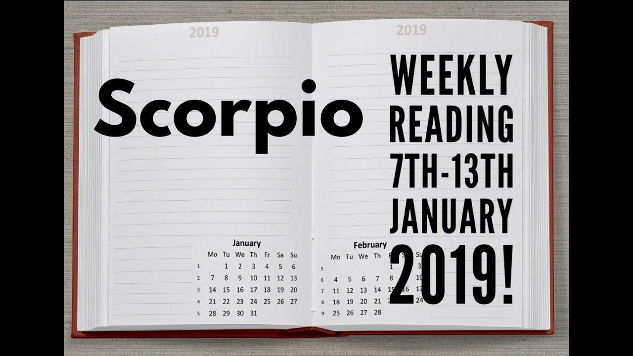 scorpio weekly tarot november 3 2019