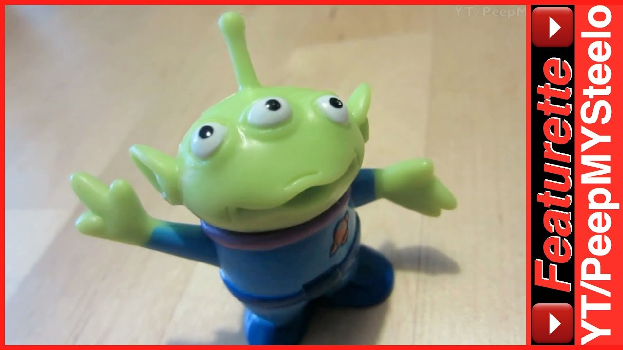 Toy Toys Moving Disney Toy Story Alien Toys From The Pixar Animated Films