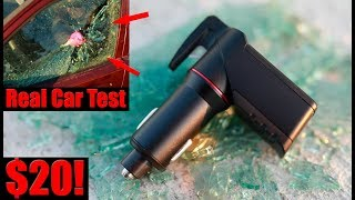 Car Charger That Will Save Your Life! Ztylus Stinger USB Emergency Escape Tool