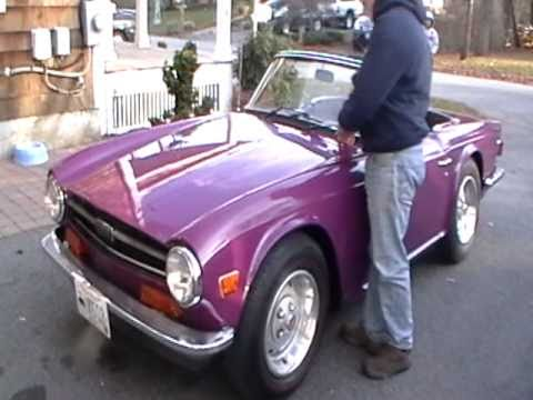 TR6 in metallic purple For Sale (1975) on Car And Classic UK [C710974]