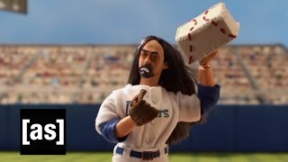 Steve Aoki: Major League Pitcher | Robot Chicken | Adult Swim
