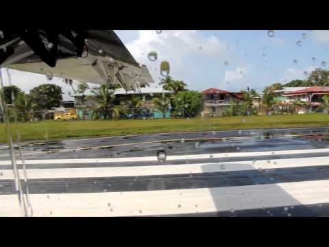 Nature Air Takeoff from Bocas Del Toro, Panama