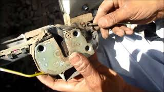 how to set remote lock problem in your car corolla  youtube
