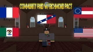 Community Raid With CSA/RM/AFE/TFA - [Roblox] Battle of Catoctin