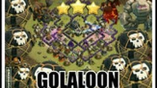 golaloon golem lava hound ballon ck cw rh10 th10 vs rh9 th9 3sterne clash of clans deutsch german