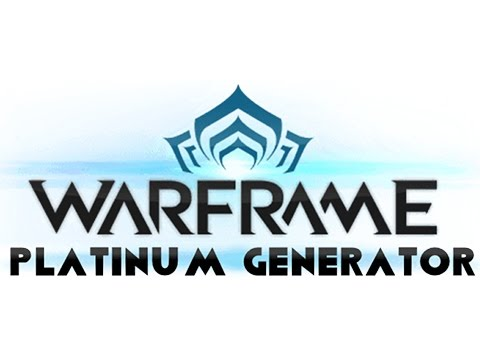 Carte Bleue Platinum.Warframe Hack Unlimited Platinum Easy Fast Proof Youtube