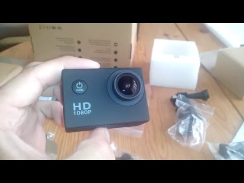 Full HD Action Kamera 2,0 Zoll 1080P Wasserdicht 170 Weitwinkel-Objektiv 12MP Actioncam