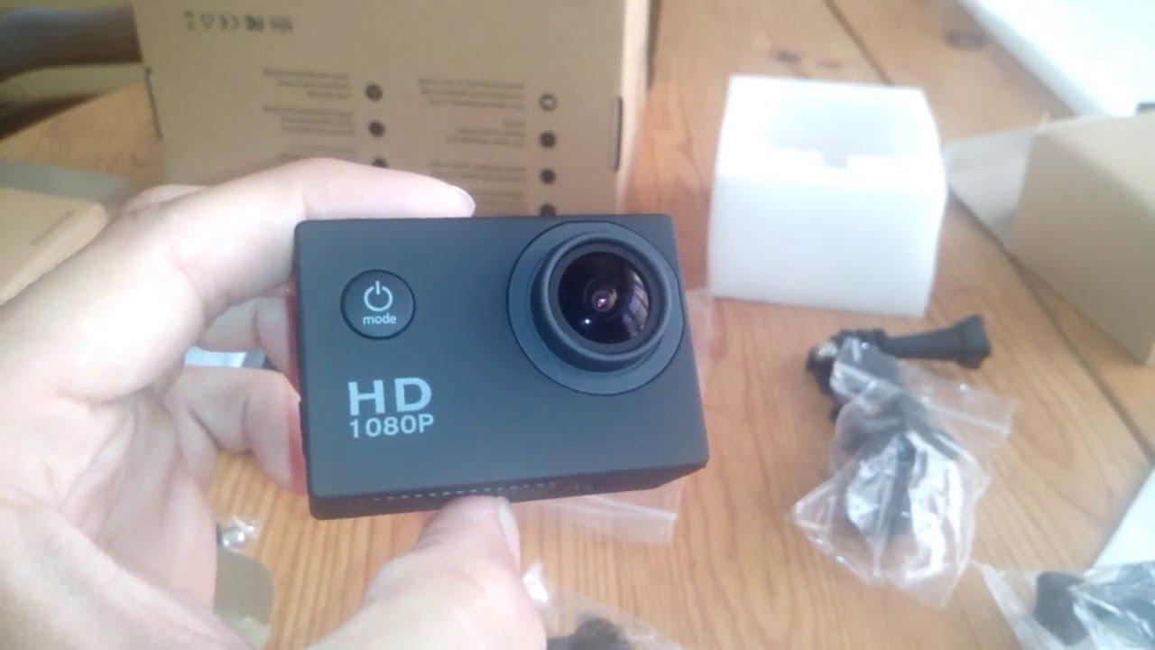 Victure Actioncam Full Hd 1080p 12mp 170° Weitwinkel Wasserdichte Aktionkamera Camcorder