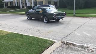 1965 Mustang New Exhaust 1st Gear Pull Away